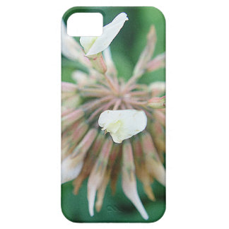 iPhone 5 covering Weis-pink Kleeblüte with heart iPhone SE/5/5s Case