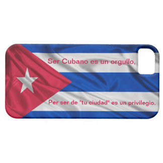 iPhone 5 Cuban flag Orgullo Cubano iPhone 5 Cover