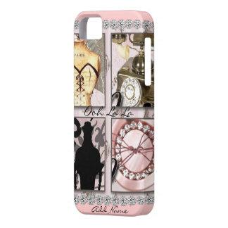 Iphone 5 CUTE OOH LA LA PARIS THEME COVER CASE