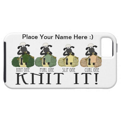 iPhone 5 cute sheep Knit it case iPhone 5 Cover