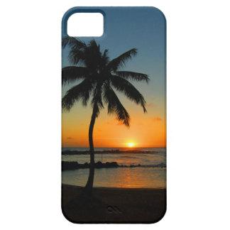 iPhone 5 de Hawaii Kauai - puesta del sol de la pl iPhone 5 Cárcasa
