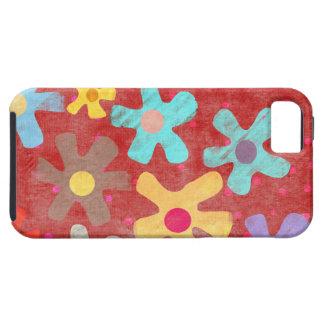 Iphone 5 de la caja de las flores funda para iPhone 5 tough