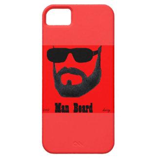 iPhone 5 de la casamata de la barba del hombre por iPhone 5 Carcasa