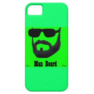 iPhone 5 de la casamata de la barba del hombre por iPhone 5 Carcasas