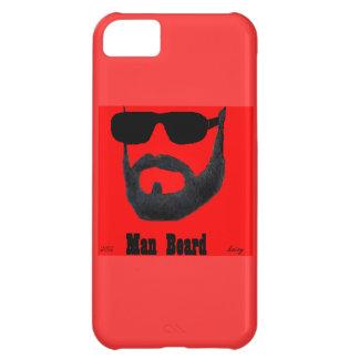 iPhone 5 de la casamata de la barba del hombre por Funda Para iPhone 5C