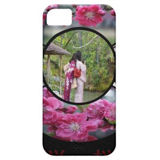 """iPhone 5"""" de la casamata jardín del zen"""" por Adela iPhone 5 Protectores"""