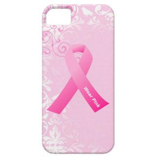 iPhone 5 de la cinta del rosa del desgaste de la iPhone 5 Case-Mate Fundas