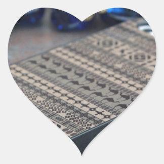 iPhone 5 de la cubierta del iPhone 5 del caso del Pegatina En Forma De Corazón
