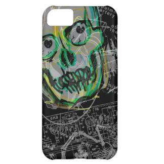 iPhone 5 del の潰されたやっとそこに de Noire del 怪獣映画の