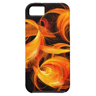 iPhone 5 del arte abstracto de la bola de fuego iPhone 5 Case-Mate Protector