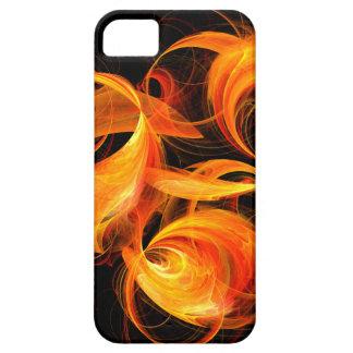 iPhone 5 del arte abstracto de la bola de fuego iPhone 5 Case-Mate Funda