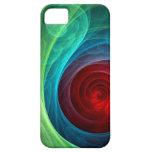iPhone 5 del arte abstracto de Red Storm iPhone 5 Case-Mate Carcasas