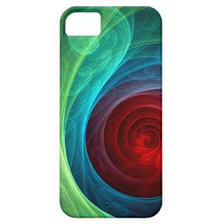 iPhone 5 del arte abstracto de Red Storm Funda Para iPhone SE/5/5s