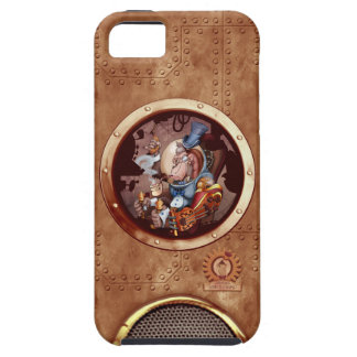 iPhone 5 del chimpancé del espacio de Steampunk iPhone 5 Case-Mate Coberturas
