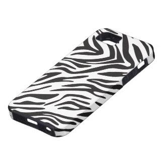 iPhone 5 del estampado de zebra iPhone 5 Fundas