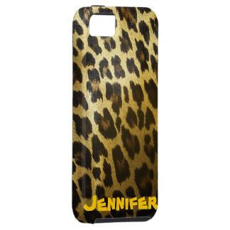 iPhone 5 del estampado leopardo iPhone 5 Carcasa