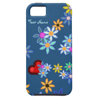 iPhone 5 del flower power iPhone 5 Protectores