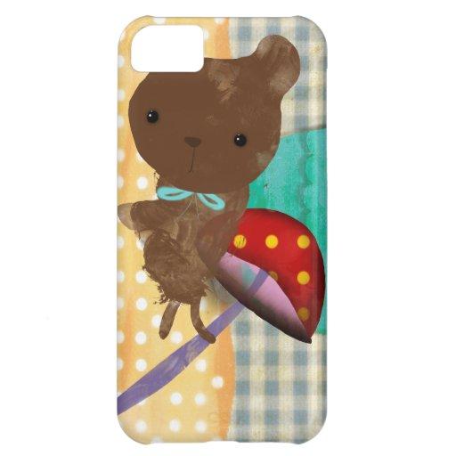 iPhone 5 del oso de peluche - caso