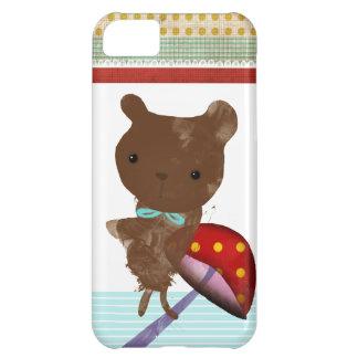 iPhone 5 del oso de peluche - caso Funda Para iPhone 5C
