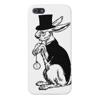 iPhone 5 del sombrero de copa del conejo de coneji iPhone 5 Carcasas