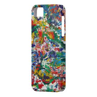 "iphone 5"" diseño de Manik"" de Victor Tilson iPhone 5 Funda"