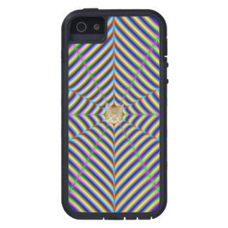 iPhone 5    Dizzy Geometry + or - Cat iPhone SE/5/5s Case