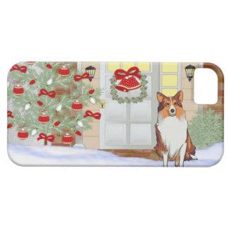 iPhone 5 Doggie Christmas Case