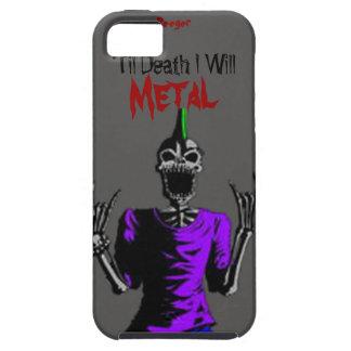 Iphone 5 duro - hasta muerte Metal iPhone 5 Fundas