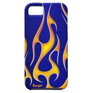 Iphone 5 duro - llamas del Rad Funda Para iPhone 5 Tough