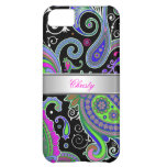 iPhone 5 Elegant Classy Pink Paisley Pattern iPhone 5C Cover