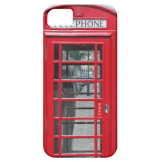 iPhone 5: Foto roja clásica de la cabina de Funda Para iPhone 5 Barely There