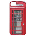 iPhone 5: Foto roja clásica de la cabina de teléfo iPhone 5 Case-Mate Cárcasas