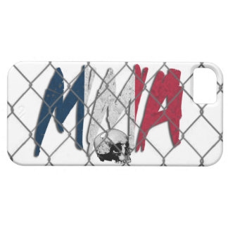 iPhone 5 France MMA White iPhone 5 Cases