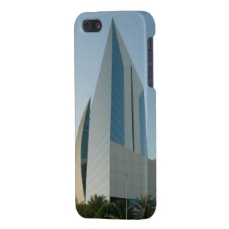 iPhone 5 Glossy Finish Case, Dubai Buildings Cover For iPhone SE/5/5s