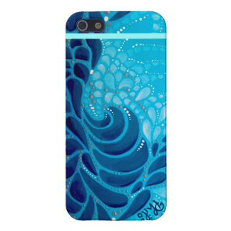 iPhone 5 Glossy Finish Case: Pacific Rush Cover For iPhone SE/5/5s
