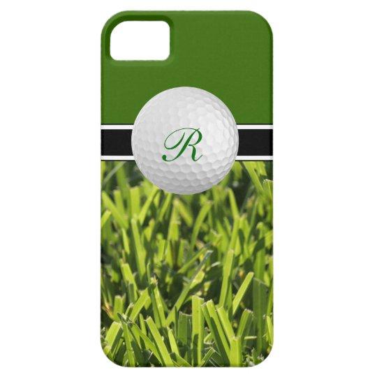 iPhone 5 Golf Monogram Cases