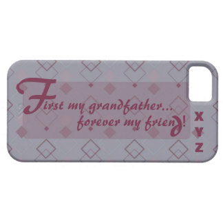 iphone 5 Grandfather Customize it w/his initials iPhone SE/5/5s Case