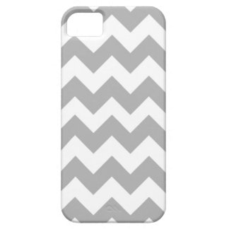 iPhone 5 Gray Chevron Case-Mate Cover iPhone 5 Covers