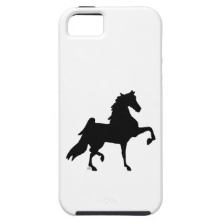 iPhone 5 hard shell cover with horse silhouette iPhone 5 Covers