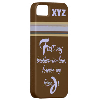 iphone 5 His Initials-Brother-in-law iPhone SE/5/5s Case