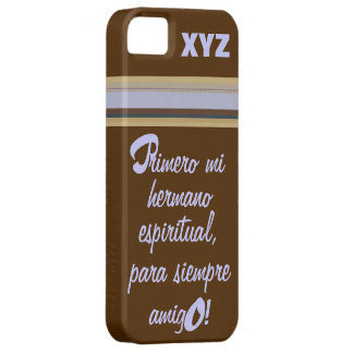 iphone 5 His Initials-Godbrother/Hermano Espiritua iPhone SE/5/5s Case