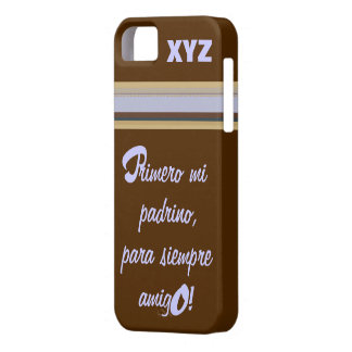 iphone 5 His Initials-Godfather/Padrino iPhone SE/5/5s Case