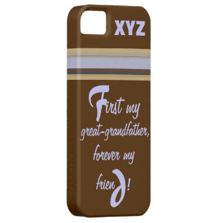 iphone 5 His Initials-Great-grandfather iPhone SE/5/5s Case