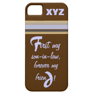 iphone 5 His Initials-Son-in-law iPhone SE/5/5s Case