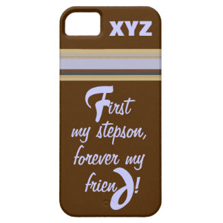 iphone 5 - His Initials-Stepson iPhone SE/5/5s Case