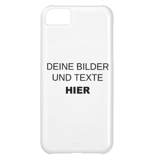 iphone 5 h lle selbst gestalten iphone 5c cases zazzle. Black Bedroom Furniture Sets. Home Design Ideas