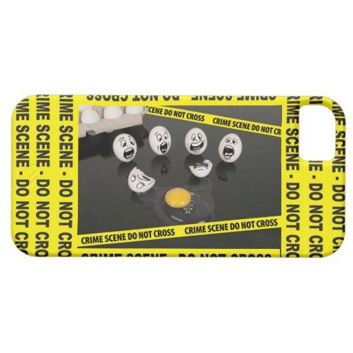 iPhone 5 Humpty Dumpty Egg Cracked Case Crime