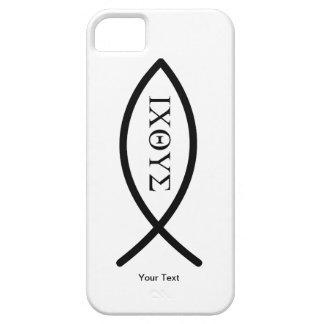 iPhone 5 - Ichthys - su texto - plantilla iPhone 5 Coberturas
