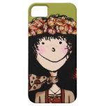 iPhone 5 ID Case, Autumn Girl iPhone 5 Cases