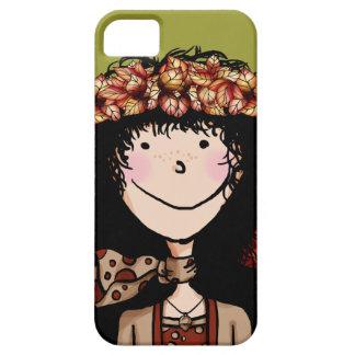 iPhone 5 ID Case, Autumn Girl iPhone SE/5/5s Case